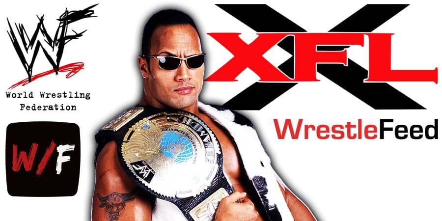 The Rock XFL 2020 Owner WrestleFeed App
