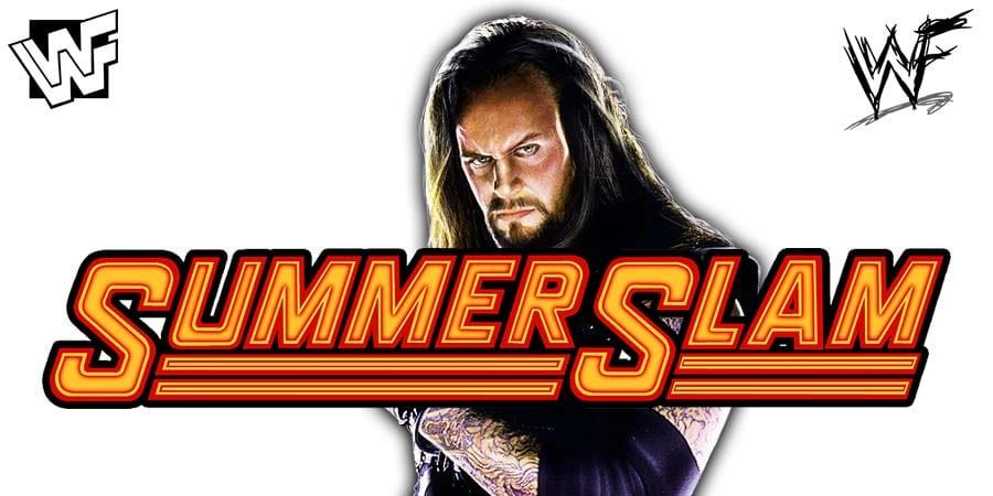 The Undertaker WWE SummerSlam 2015