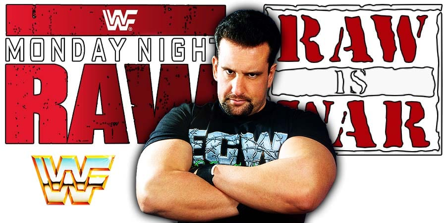 Tommy Dreamer RAW Article Pic