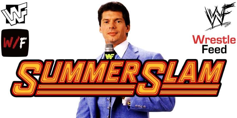 Vince McMahon WWE SummerSlam 2020 WrestleFeed App
