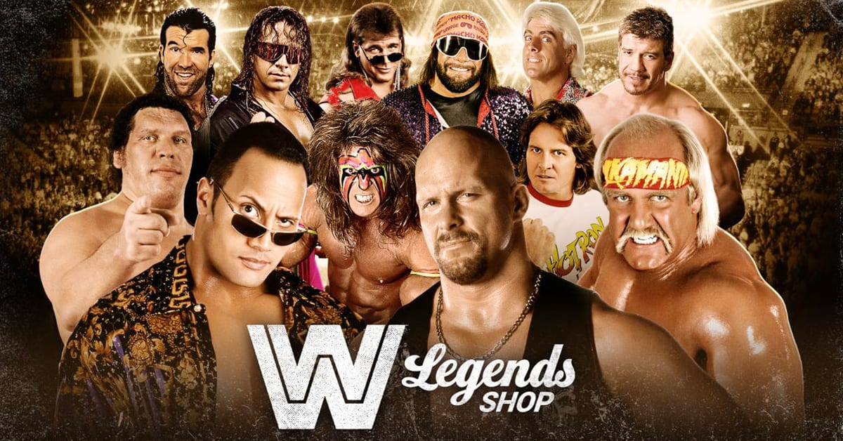 WWE Legends Shop