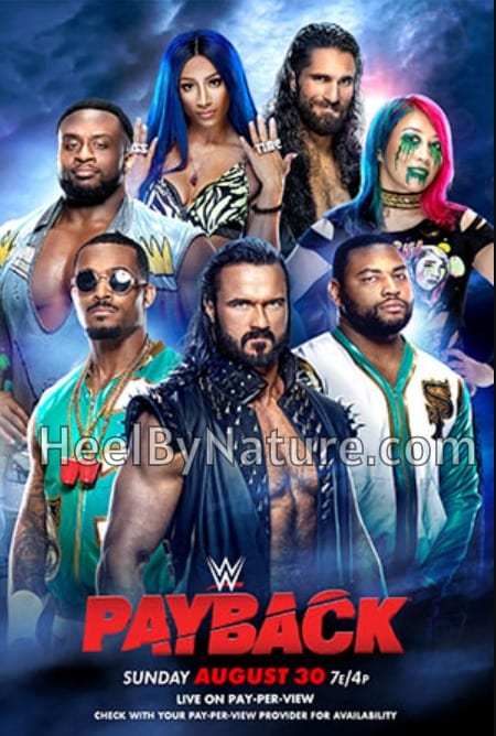 WWE Payback 2020 Poster