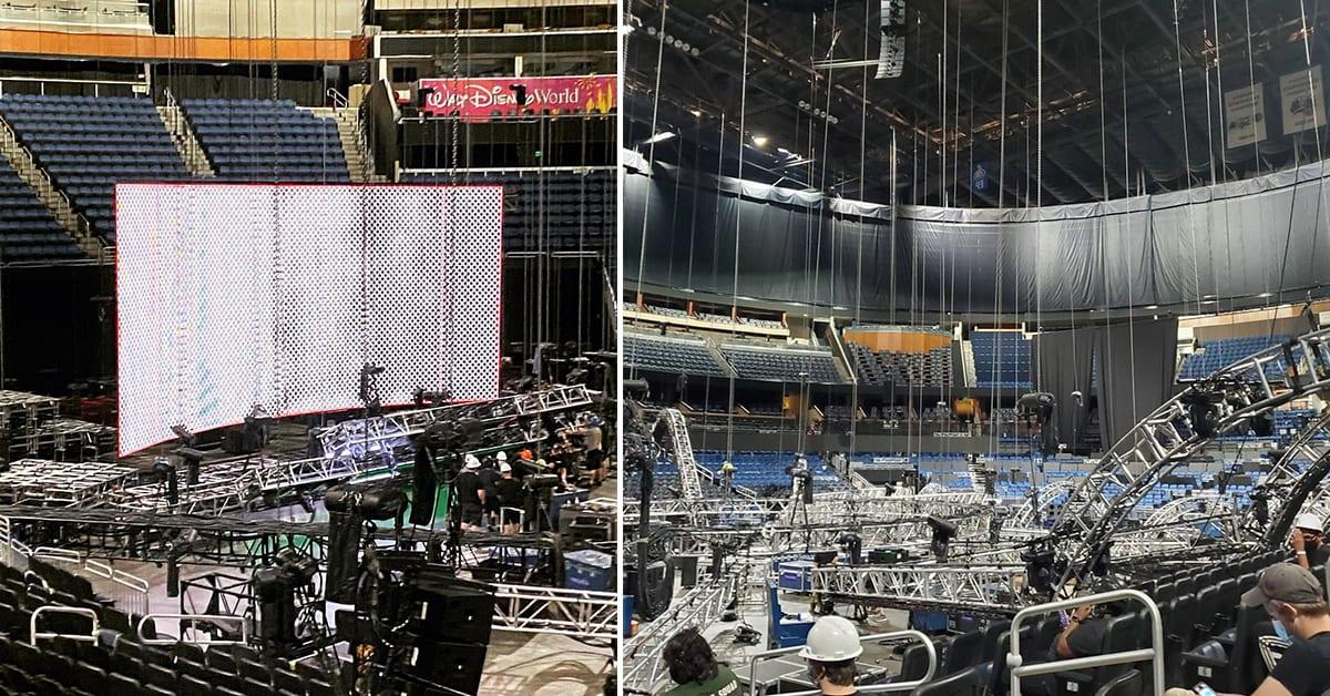 WWE ThunderDome Construction Set-Up