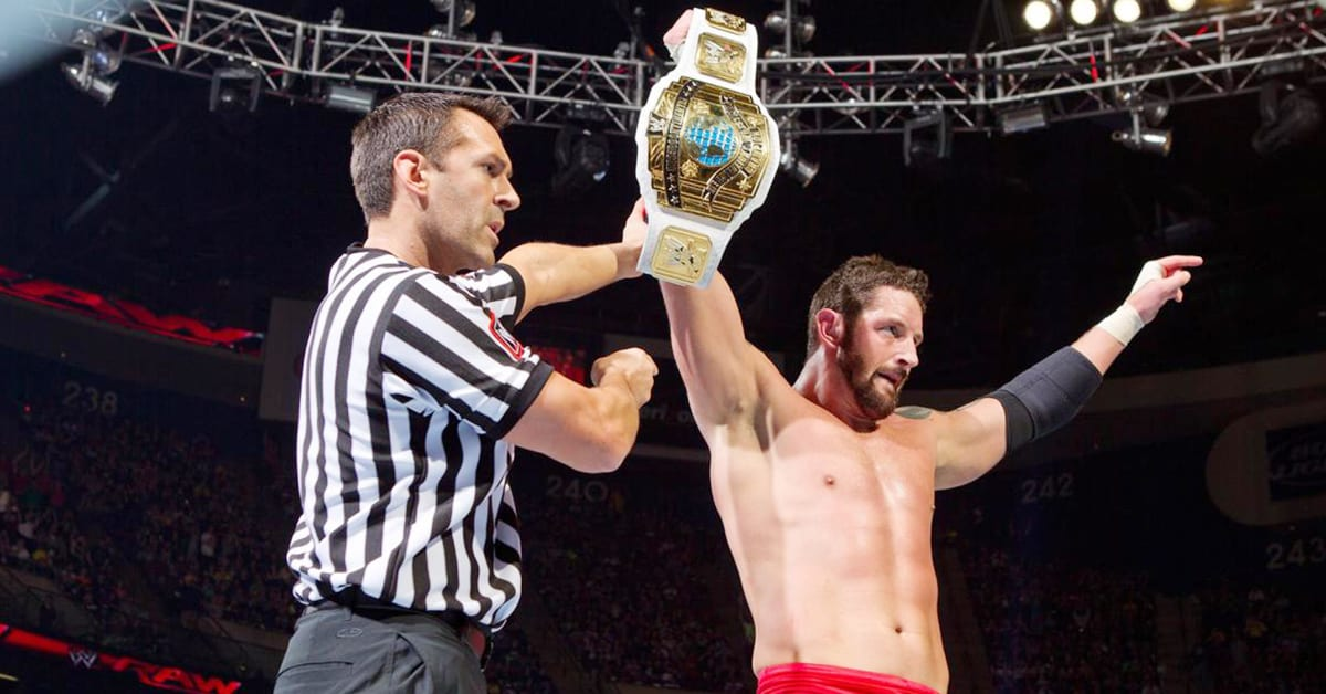 Wade Barrett Wins WWE Intercontinental Championship