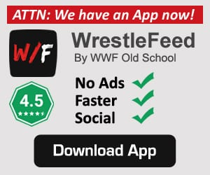 WrestleFeed App Ad By WWF Old School 1