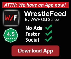 WrestleFeed App Ad By WWF Old School 2