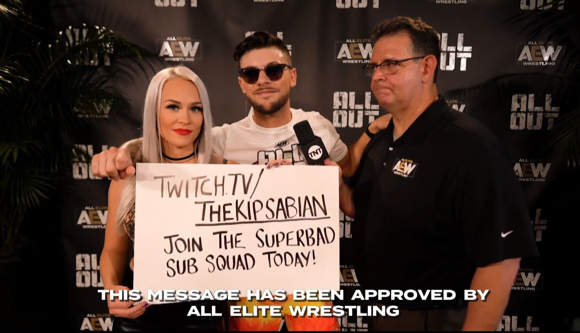 AEW Takes A Shot At WWE's New Policy During AEW All Out 2020