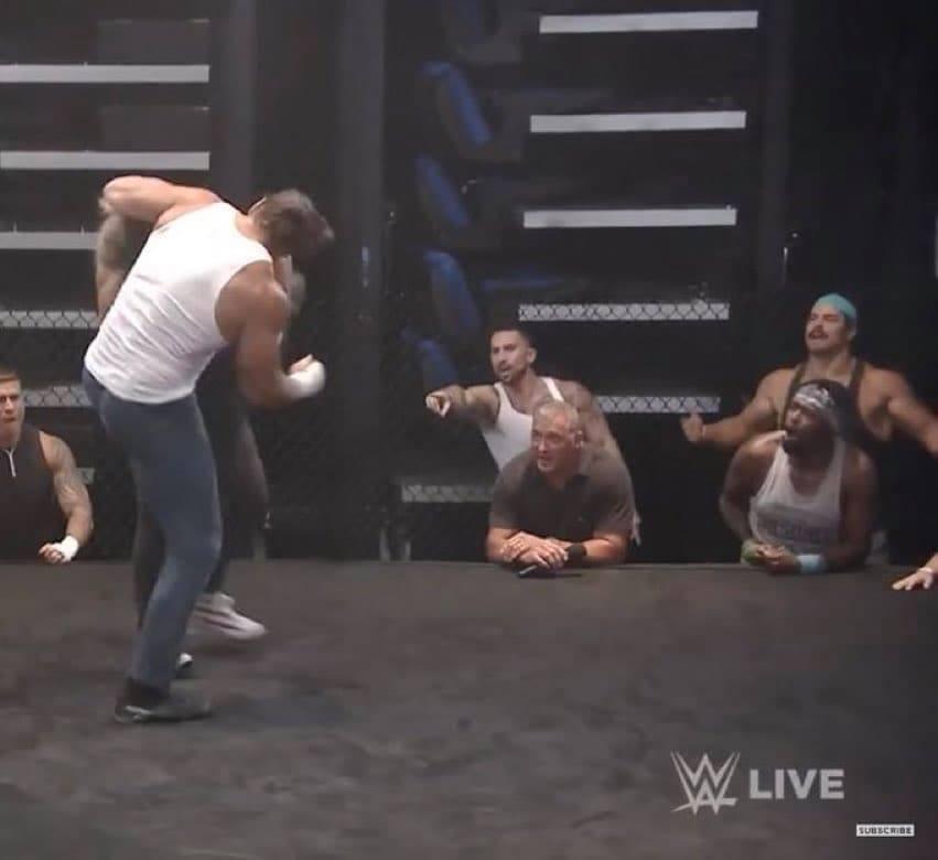 AEW Wrestler Pineapple Pete Suge D On RAW Underground