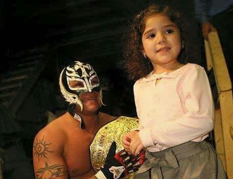 Aalyah Mysterio early WWE appearances - 1