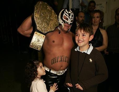 Aalyah Mysterio early WWE appearances - 2
