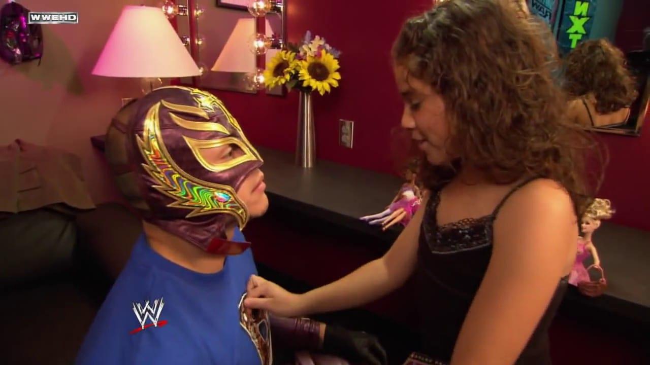 Aalyah Mysterio early WWE appearances - 4