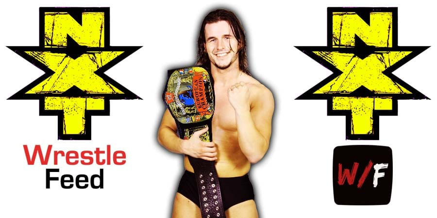 Adam Cole NXT Article Pic 1 WrestleFeed App