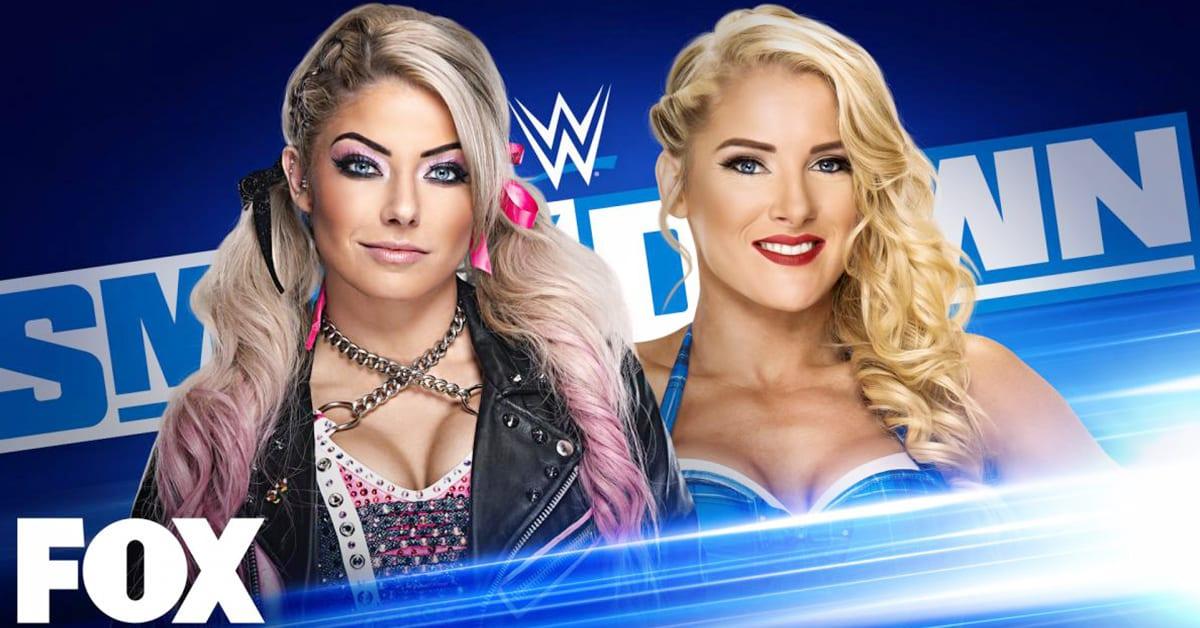 Alexa Bliss vs Lacey Evans - WWE SmackDown Graphic (September 2020)
