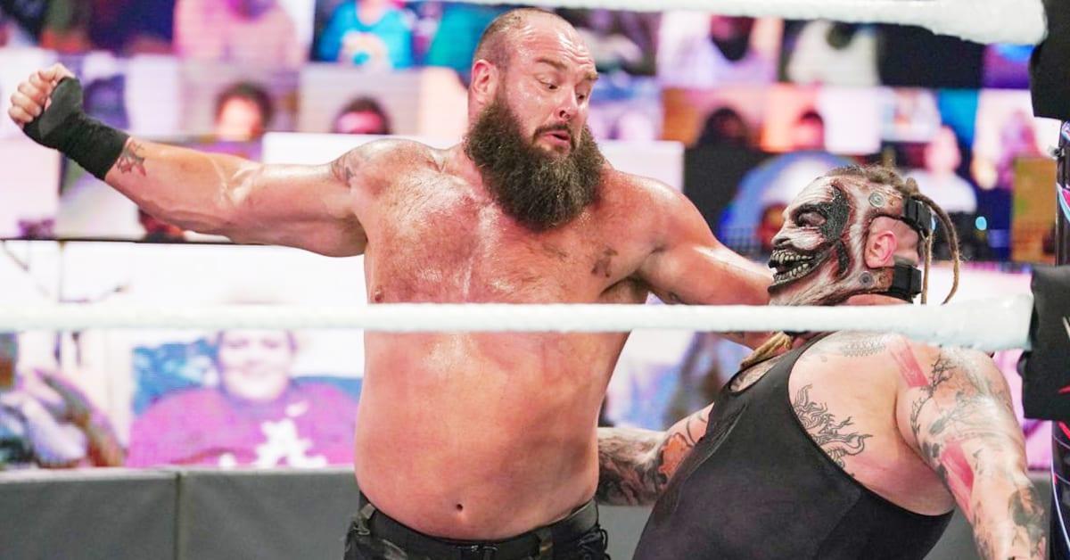 Bald Braun Strowman The Fiend Bray Wyatt WWE Payback 2020 Match