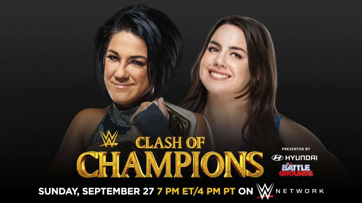 Bayley vs. Nikki Cross - WWE Clash Of Champions 2020