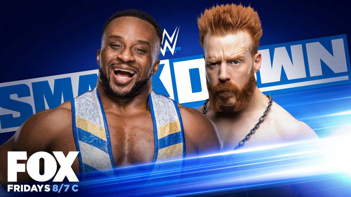 Big E Sheamus WWE SmackDown Graphic