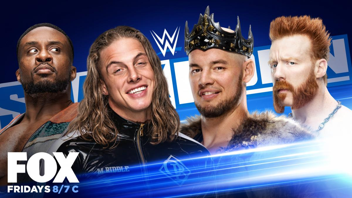 Big E vs Matt Riddle vs King Corbin vs Sheamus - WWE SmackDown #1 Contenders Match