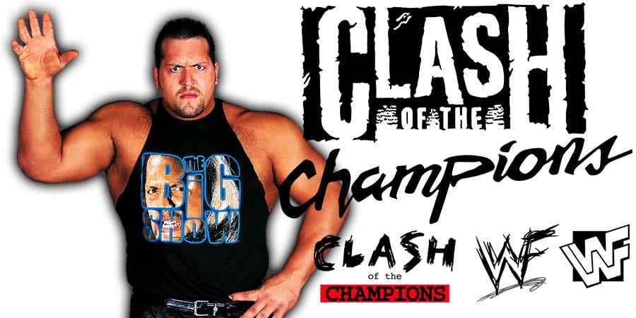 Big Show WWE Clash Of Champions 2020