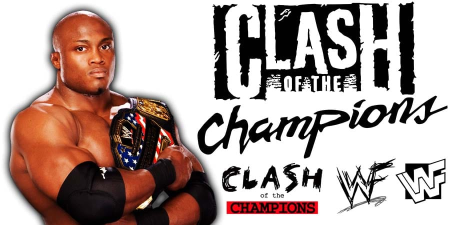 Bobby Lashley United States Champion WWE Clash Of Champions 2020