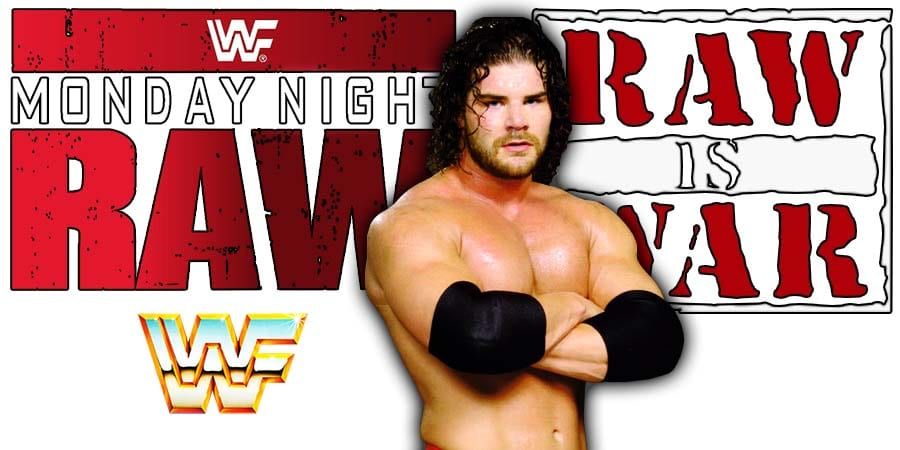 Bobby Roode Robert Roode RAW Article Pic