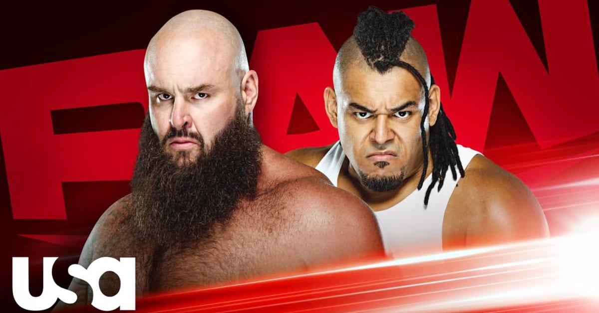 Braun Strowman vs Dabba-Kato - WWE RAW Underground