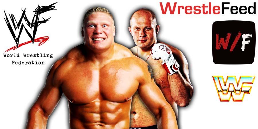 Brock Lesnar vs Fedor Emelianenko