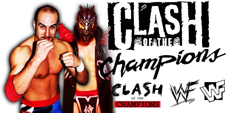 Cesaro Kalisto WWE Clash Of Champions 2020