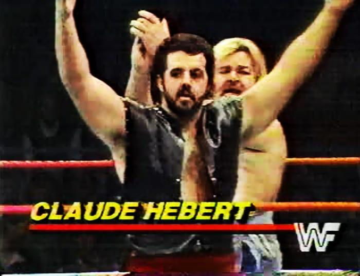 Claude Hebert WWF Jobber