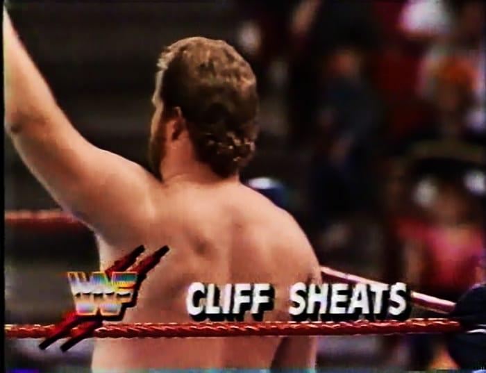 Cliff Sheats WWF Jobber