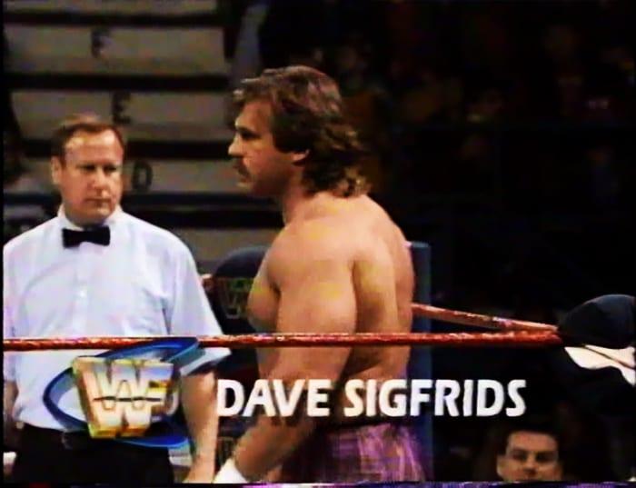 Dave Sigfrids WWF Jobber