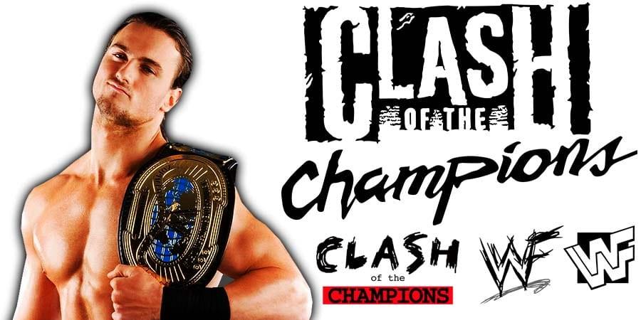 Drew McIntyre WWE Clash Of Champions 2020