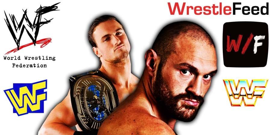 Drew McIntyre vs Tyson Fury WrestleFeed App