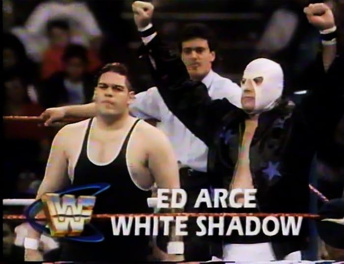 Ed Arce & White Shadow WWF Tag Team