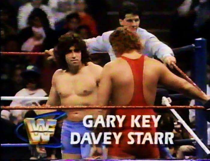 Gary Key & Davey Starr WWF Tag Team