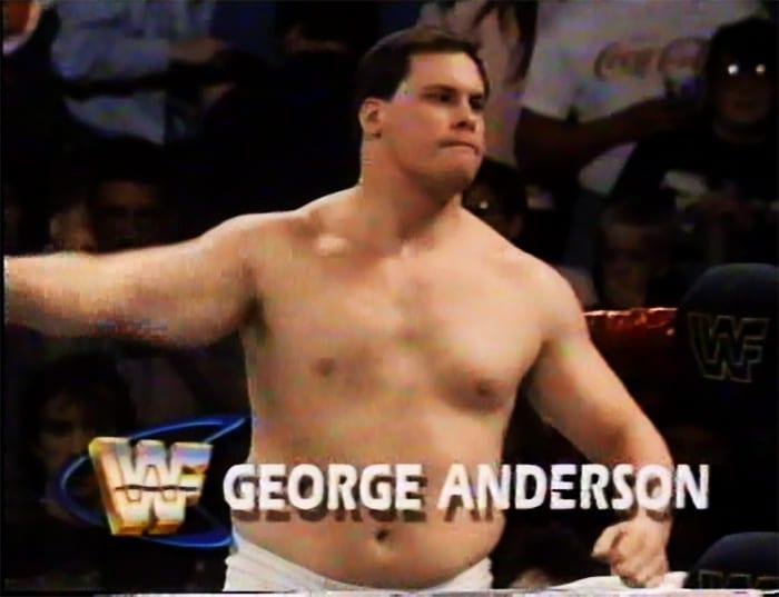 George Anderson WWF Jobber