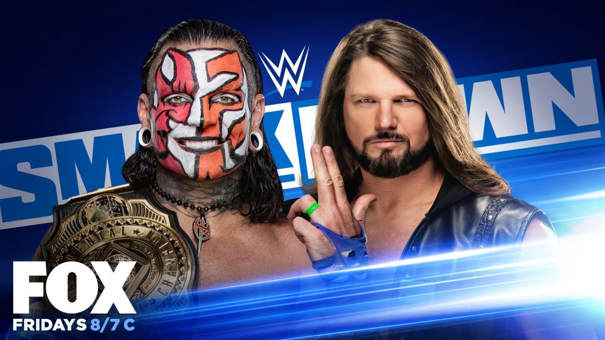 Intercontinental Champion Jeff Hardy vs AJ Styles WWE SmackDown