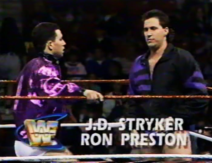 JD Stryker & Ron Preston WWF Tag Team