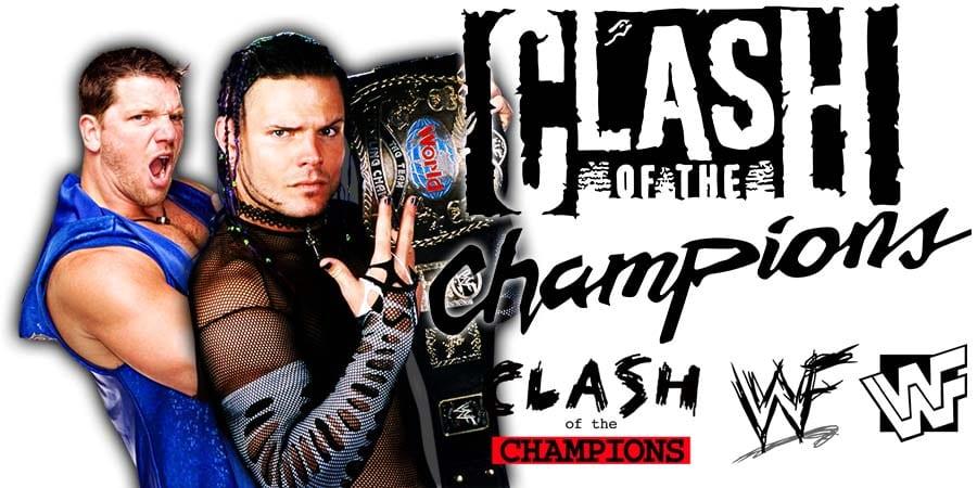 Jeff Hardy AJ Styles WWE Clash Of Champions 2020