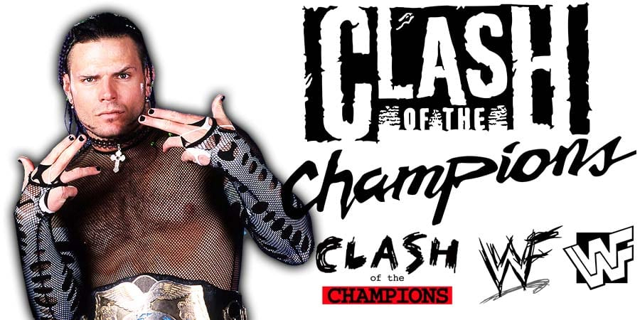 Jeff Hardy Loses At WWE Clash Of Champions 2020