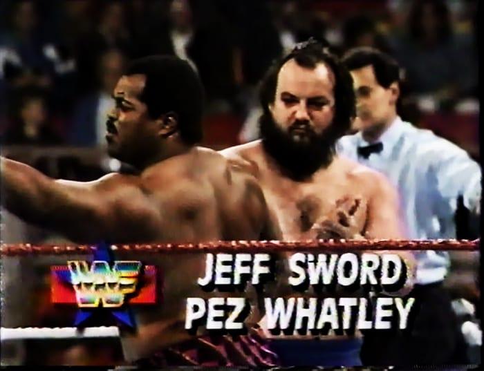 Jeff Sword & Pez Whatley WWF Tag Team