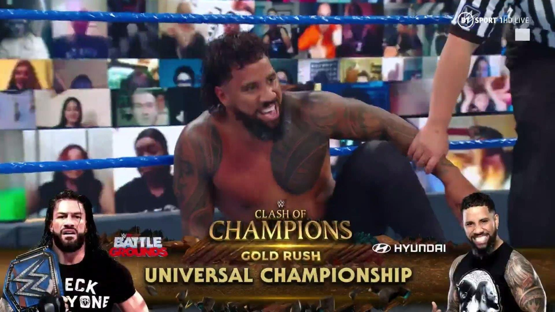 Jey Uso will face Roman Reigns for the Universal Championship at WWE Clash Of Champions 2020