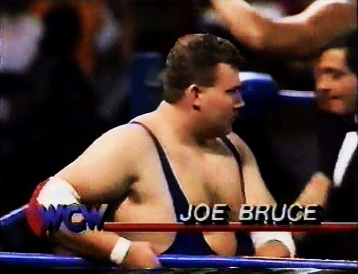 Joe Bruce WCW Jobber