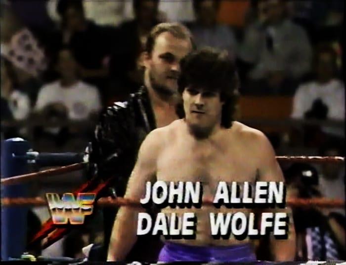 John Allen & Dale Wolfe WWF Tag Team