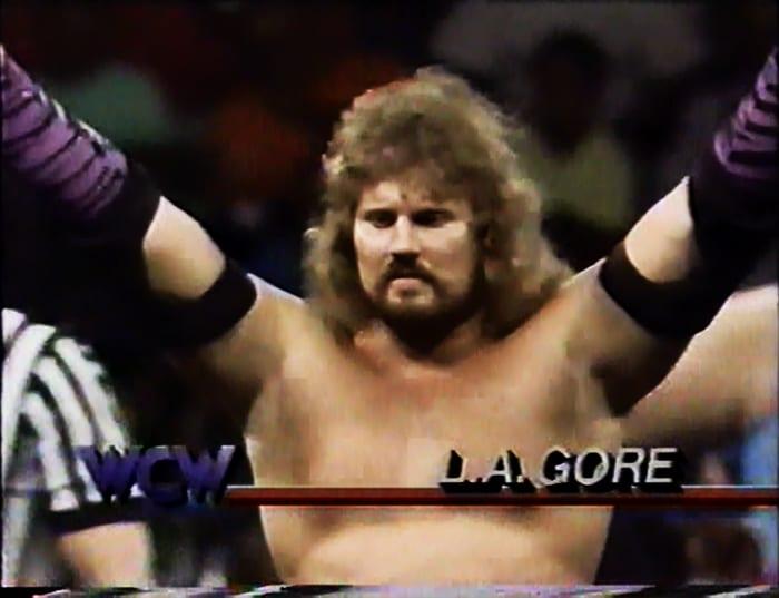 LA Gore WCW Jobber