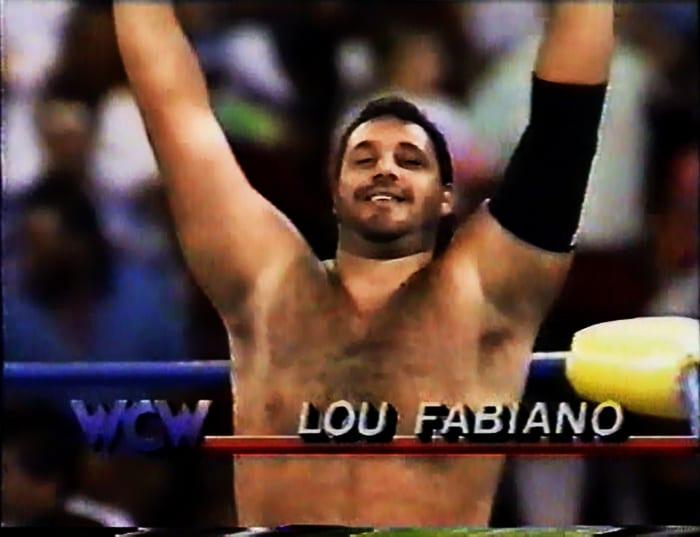 Lou Fabiano WCW Jobber