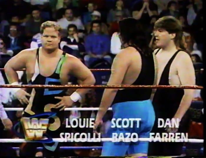 Louie Spicolli, Scott Bazo & Dan Farren WWF Tag Team