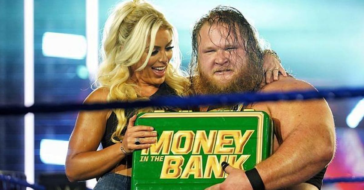 Mandy Rose Money In The Bank Contract Otis