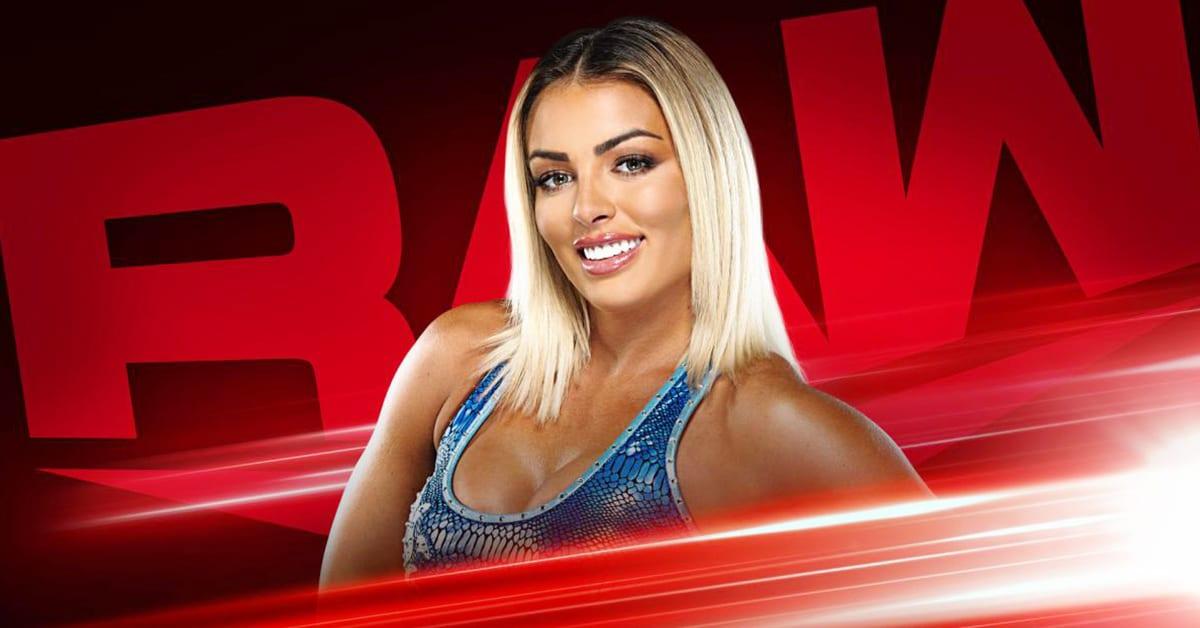 Mandy Rose WWE RAW Graphic September 2020