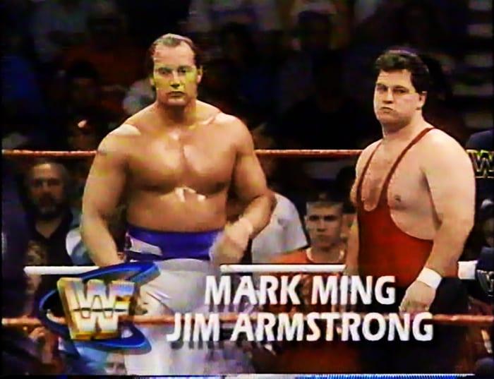 Mark Ming & Jim Armstrong WWF Tag Team