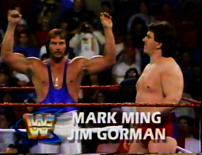 Mark Ming & Jim Gorman WWF Tag Team